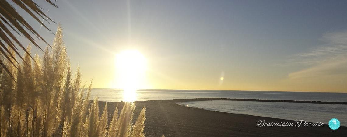 Amanecer en Benicàssim. Playa Els Terrers