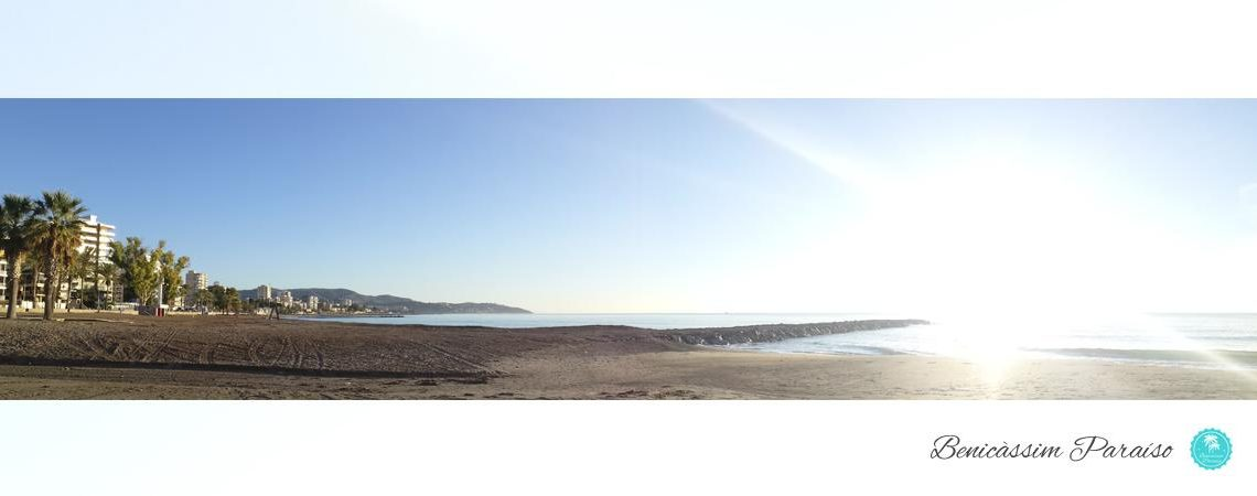 Amanecer en Benicàssim. Playa Heliópolis