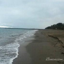 Día gris en Benicàssim