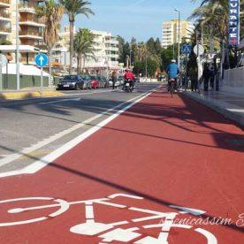 El carril bici de Benicàssim, una opción de ocio, deporte y turismo