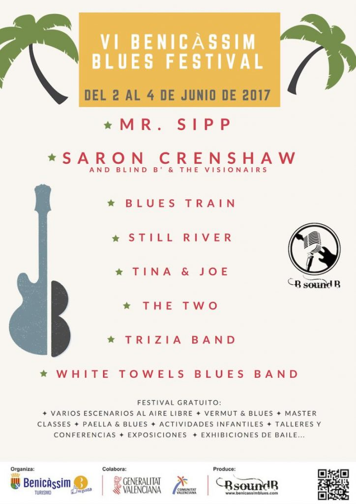 Cartel Benicàssim Blues Festival 2017