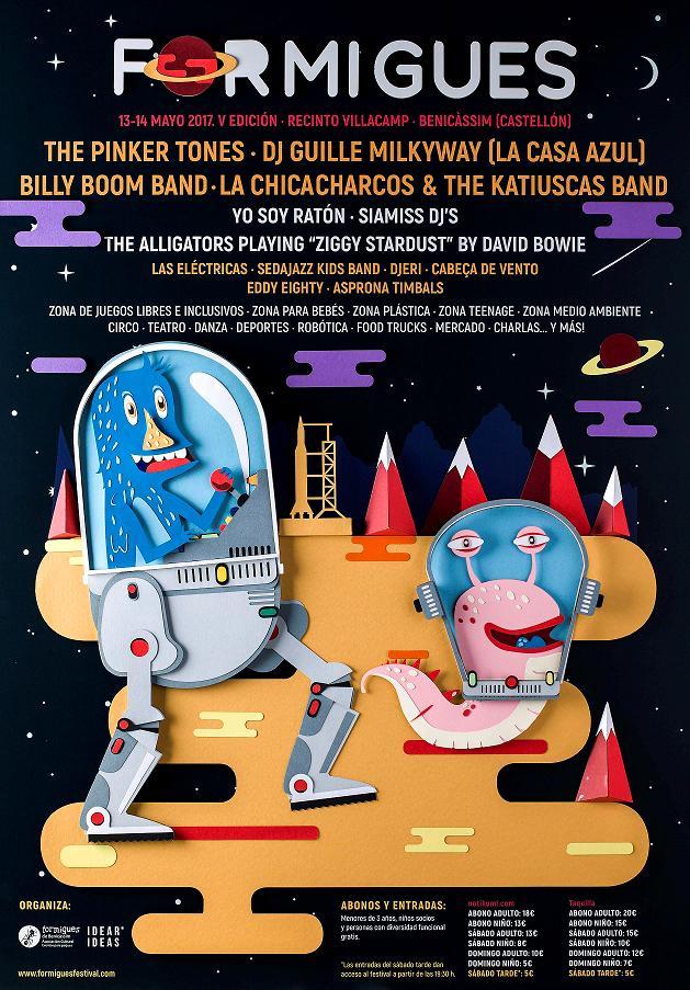 Cartel Formigues Festival 2017