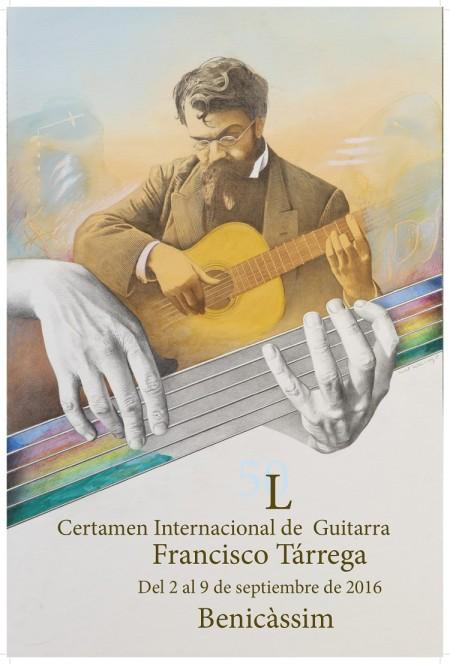 50 Certamen Internacional de Guitarra Francisco Tárrega