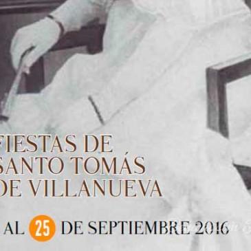Programa de fiestas de Santo Tomás de Villanueva 2016