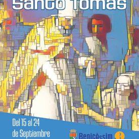 Programa de fiestas de Santo Tomás de Villanueva 2017