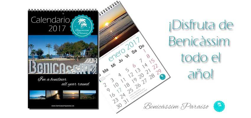 Calendario Benicàssim Paraíso 2017