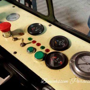 Cabina de mando Renfe