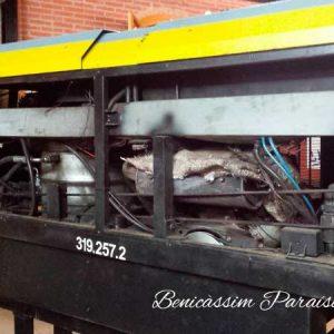 Locomotora Renfe diesel hidráulica de 7 1/4''