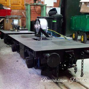 Reparación de locomotoras