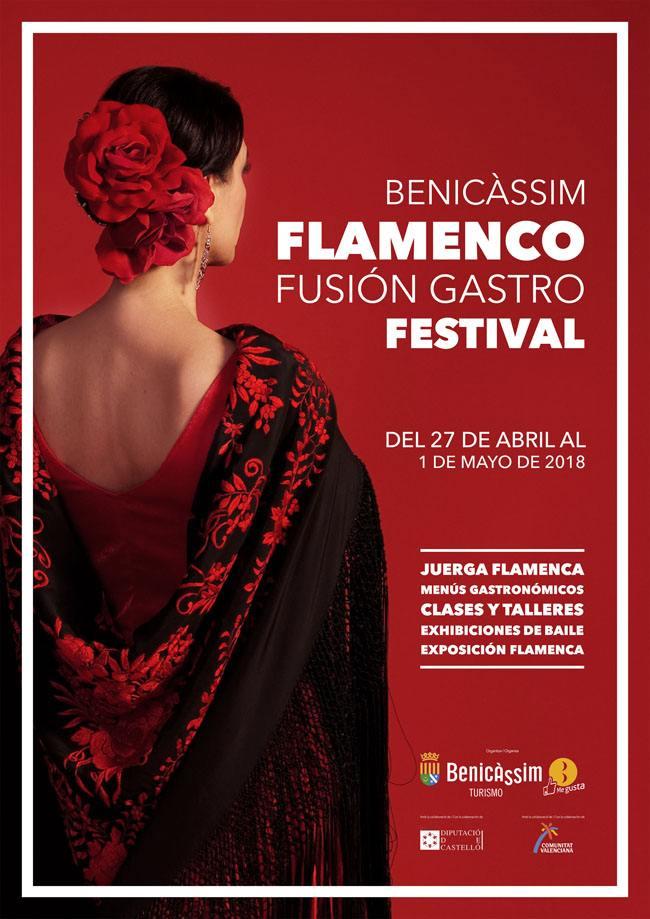 Cartel Flamenco Fusion Gastro Festival 2018