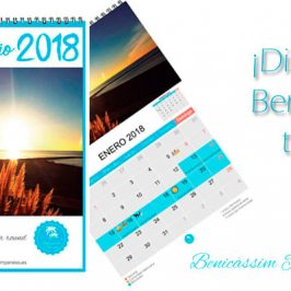 Venta de calendarios de Benicàssim Paraíso 2018