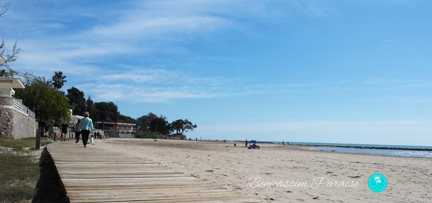 Pasarela playas Benicàssim
