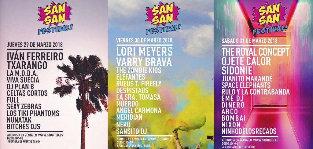Sansan Festival 2018