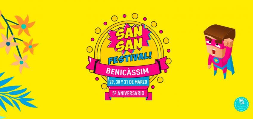 Benicàssim se prepara para celebrar la 5ª edición del Sansan Festival