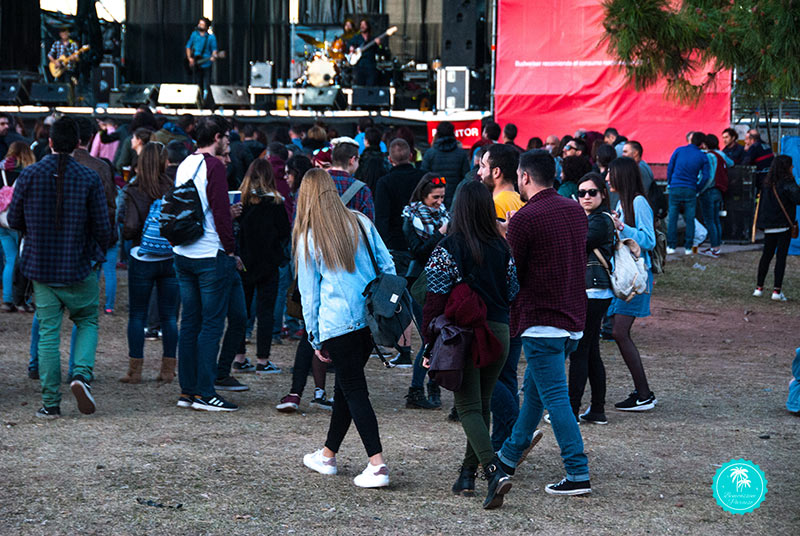 Público en Sansan Festival