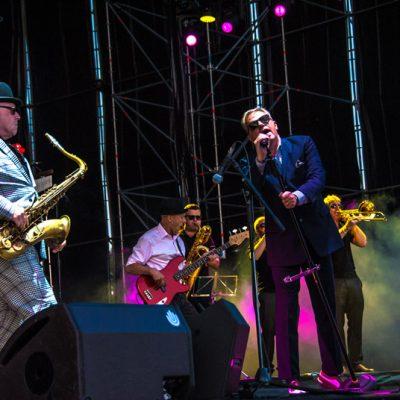 Madness en un momento de su actuación en el escenario Las Palmas