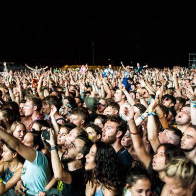 Asistentes al concierto de Liam Gallagher