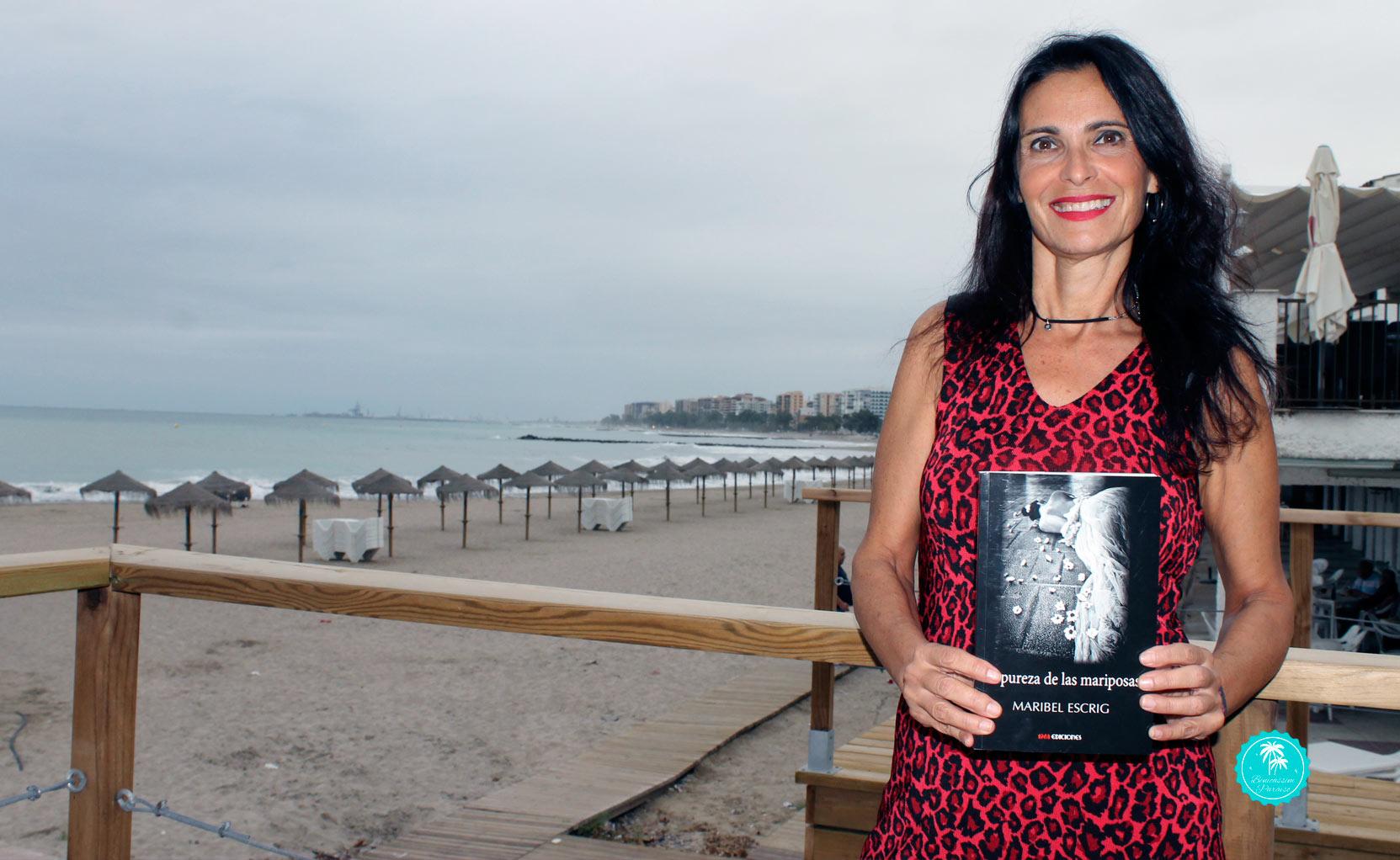 """Maribel Escrig presenta """"La pureza de las mariposas"""""""