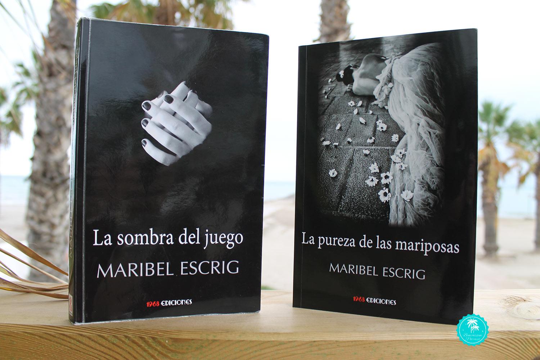 """Maribel Escrig """"La sombra del juego"""" y """"La pureza de las mariposas"""""""