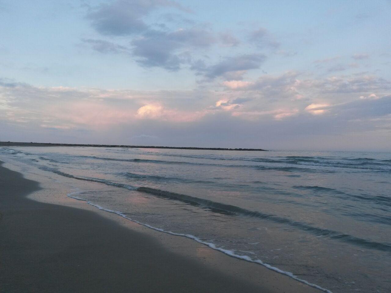 Atardecer En La Playa Els Terrers