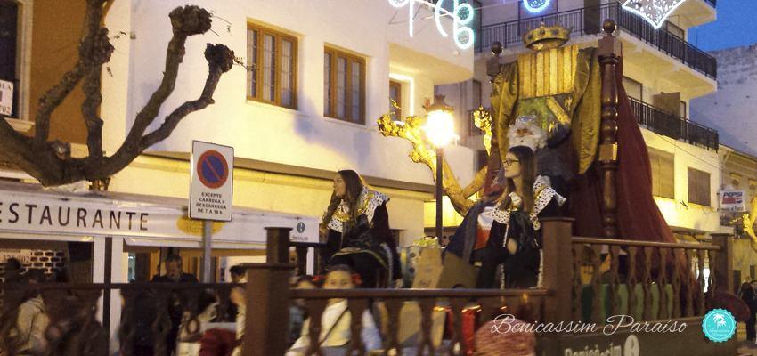 Cabalgata de Reyes Magos en Benicàssim
