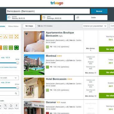 Ofertas de hoteles en Benicàssim