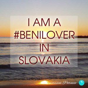 I am a benilover in Slovakia