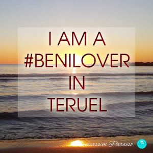 I am a benilover in Teruel