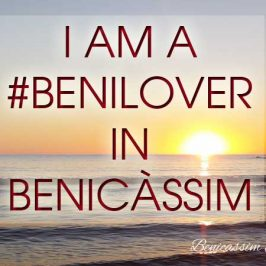 I am a benilover in Benicàssim
