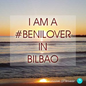 I am a benilover in Bilbao