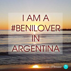I am a benilover in Argentina