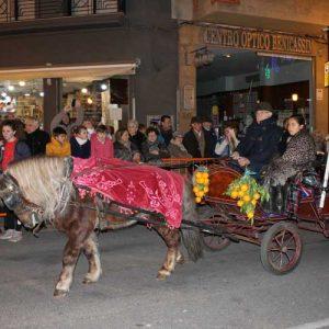 Desfile de Sant Antoni en Benicàssim
