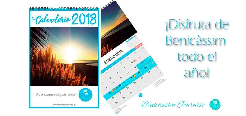 Calendario 2018 Benicàssim Paraíso