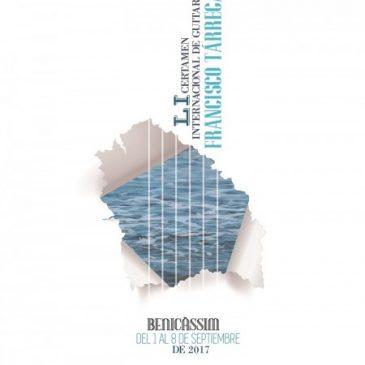 Nueva edición del Certamen Internacional de Guitarra Francisco Tárrega