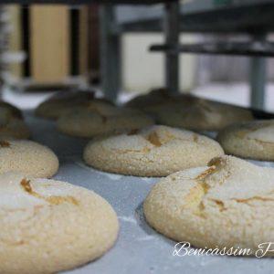 Mostachones. Panadería José María en Benicàssim