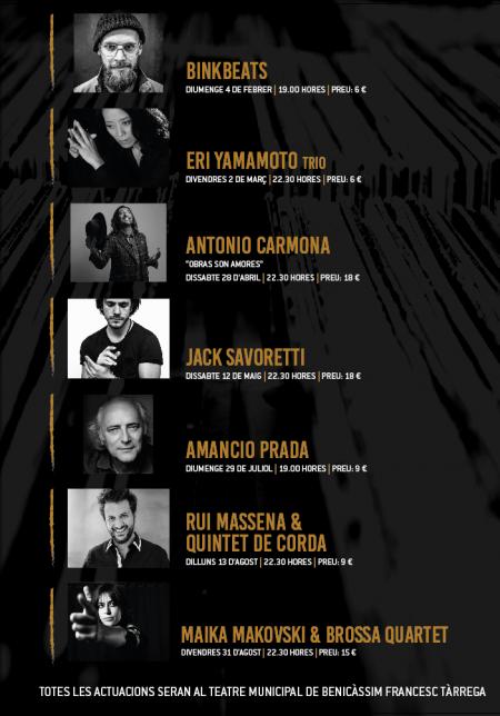 Ciclo Benicàssim Jazz mes altres músiques