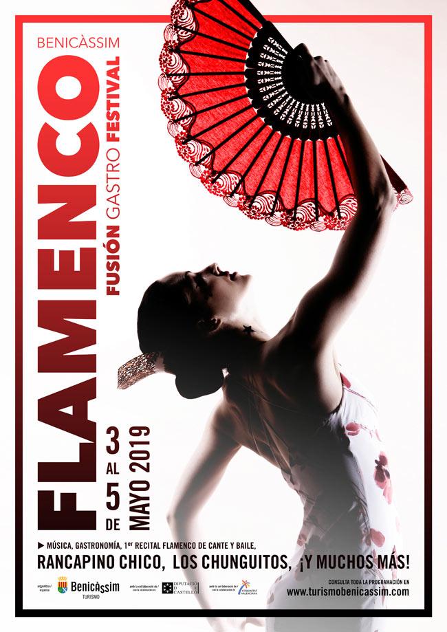 Cartel Flamenco Fusión Gastro Festival 2019