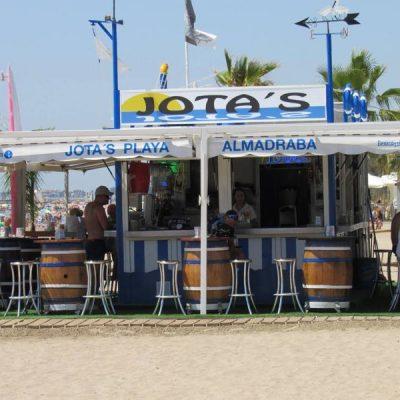 Jota's Vistamar chiringuito playa