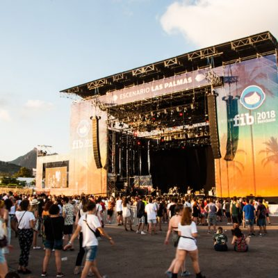 Nothing But Thieves en el Escenario Las Palmas FIB 2018