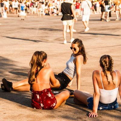 Fibers descansando entre conciertos FIB 2018