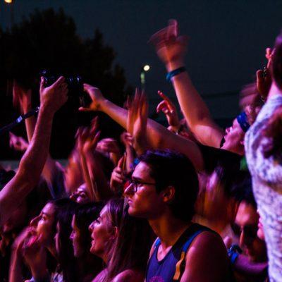Público en el concierto de J Hus  FIB 2018