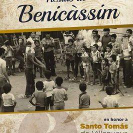 Cartel fiestas Santo Tomás de Villanueva 2019