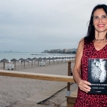"""Entrevista: Maribel Escrig nos presenta """"La pureza de las mariposas"""""""