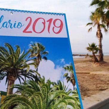 Venta de calendarios de Benicàssim Paraíso 2019