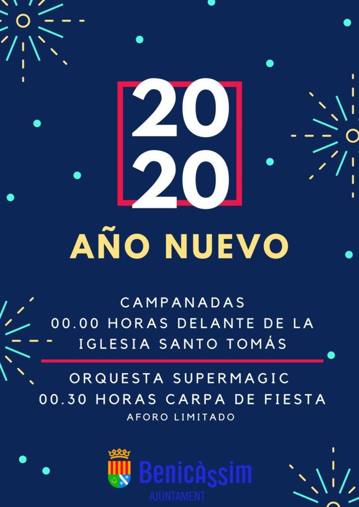 Cartel Nochevieja 2019-2020