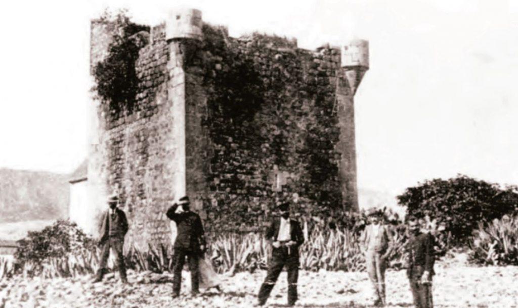 Torre San Vicente a finales del siglo XIX