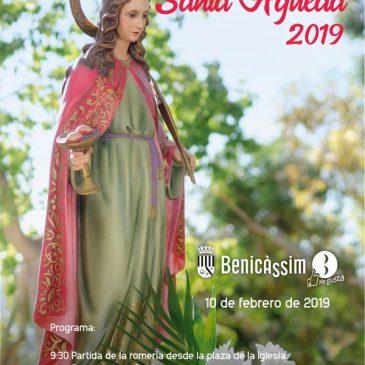 Benicàssim celebrará este domingo la tradicional romería a Santa Águeda