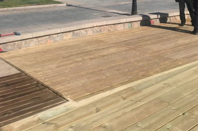 Arreglos acceso playa Almadrava