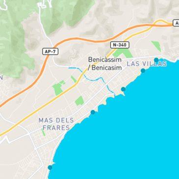 Benicàssim sigue manteniendo sus 5 banderas azules