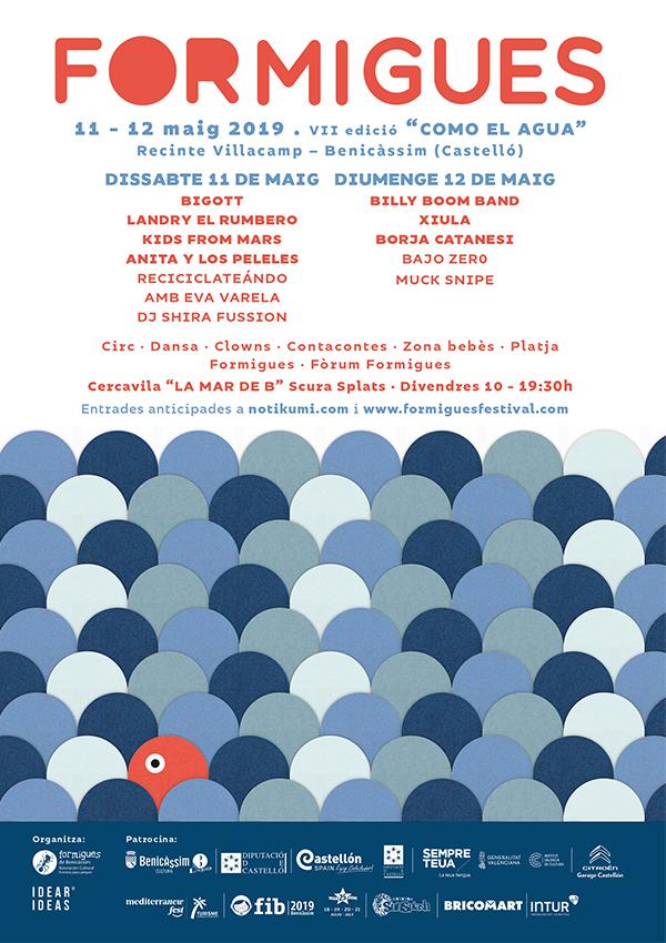 Cartel Formigues Festival 2019